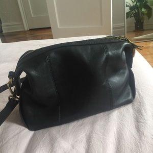 Madewell Mini Glasgow Black Crossbody Bag